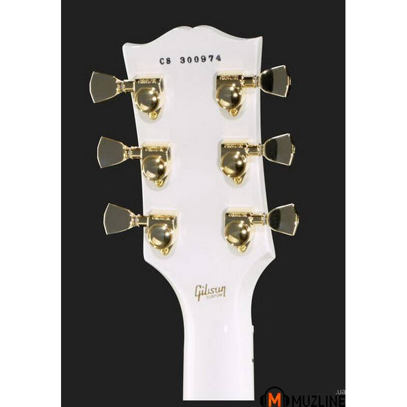 Электрогитара Gibson Les Paul Custom Alpine White