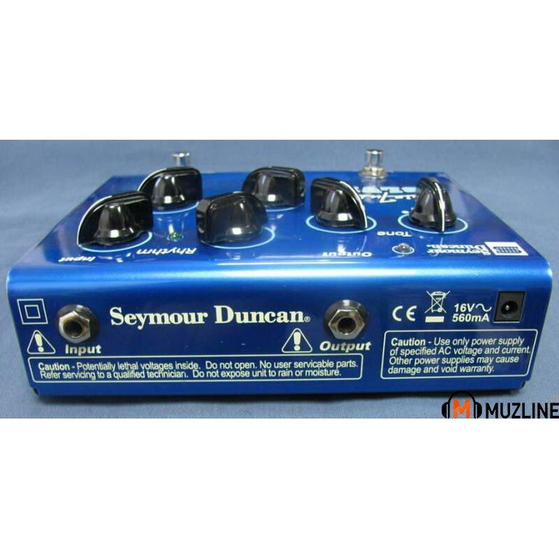 Гитарная педаль Seymour Duncan SFX11 Twin Tube Blue