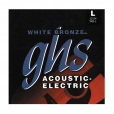 GHS Strings WB-L White Bronze