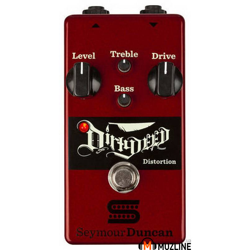 Гитарная педаль Seymour Duncan Dirty Deed Distortion Pedal