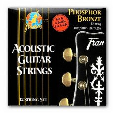 Framus 47240 Phosphor Bronze Light 12String 10-47