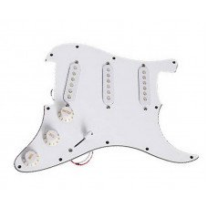 Звукосниматель Paxphil #9512 Pickguard Panel S-S-S White