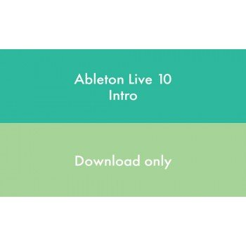 Программное обеспечение Ableton Live 10 Intro