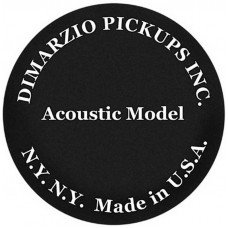 DiMarzio DP130BK Acoustic Model
