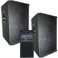 Big SET2*15-600A-USB/MP3/FM/BT