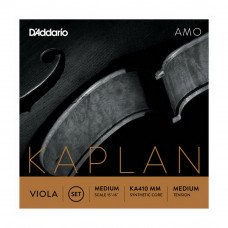 D'Addario KA410 MM Kaplan Amo Viola 4/4 Medium Scale, Medium Tension