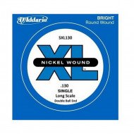 D'Addario SXL130 XL Nickel Wound Double Ball End 130
