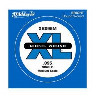 D'Addario XB095M XL Nickel Wound Medium Scale 095