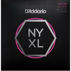 D'Addario NYXL45130 Regular Light 5-String 45-130