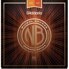D'Addario NB1047 Nickel Bronze Extra Light 10-47