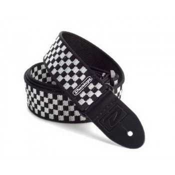 Dunlop D3831 BK Black And White Check