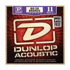 Dunlop DAB1152 80/20 Bronze Medium Light 11-52