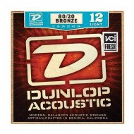 Dunlop DAB1254 80/20 Bronze Light 12-54