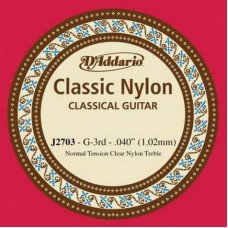 D'Addario J2703 Classic Nylon Normal Tension - 3rd