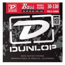 Dunlop DBN30130 Nickel Plated Steel Medium 6 String 30-130