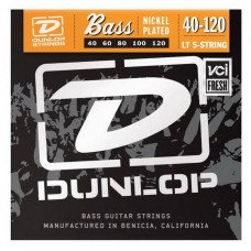 Dunlop DBN40120 Nickel Plated Steel Light 5 String 40-120