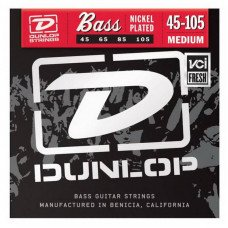 Dunlop DBN45105 Nickel Plated Steel Medium 45-105