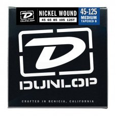 Dunlop DBN45125T Nickel Plated Steel Medium 5 Tapered B 45-125