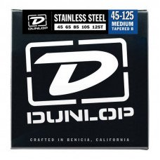 Dunlop DBS45125T Stainless Steel Medium 5 Tapered B 45-125
