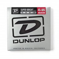 Dunlop DBSBN45105 Super Bright Nickel 45-105