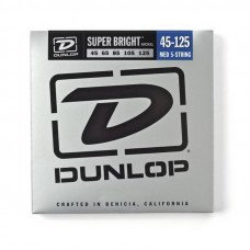 Dunlop DBSBN45125 Super Bright Nickel 45-125