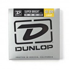 Dunlop DBSBS40100 Super Bright Steel 40-100