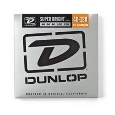 Dunlop DBSBS40120 Super Bright Steel 40-120