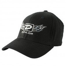 "Dunlop DSD06-40LX Flex Fit Cap ""Flame D"" Large"