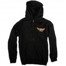 "Dunlop DSD06-MZH-M Men Zip Hoodie ""Flame D"" Medium"