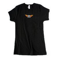 "Женская футболка Dunlop DSD06-WTS-S Woman T-Shirt ""Flame D"" Small"
