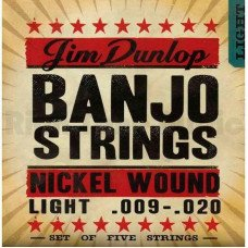 Dunlop DJN0920 Banjo Nickel Light