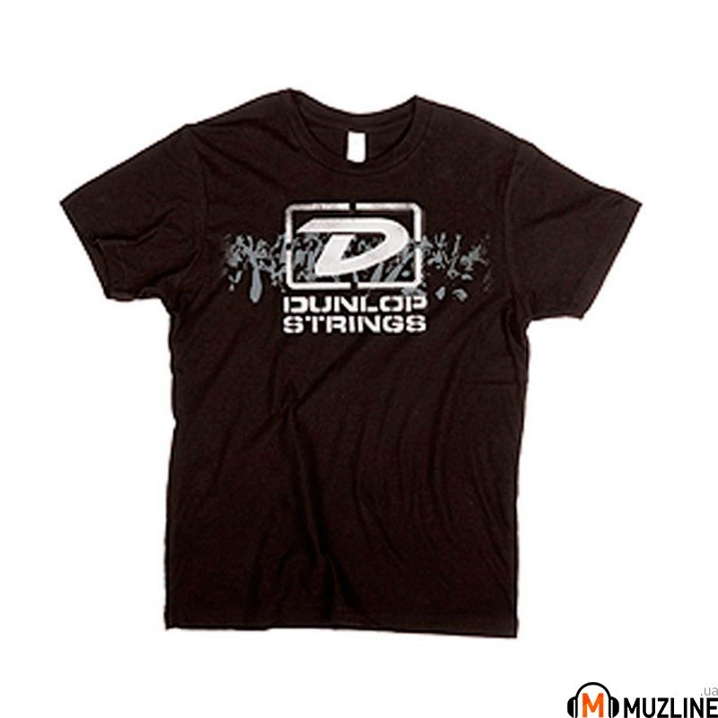 "Футболка мужская Dunlop DSD28-MTS-L Men T-Shirt ""Dunlop Strings"" Large"