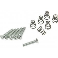 DiMarzio FH1311 Vintage Style Single-coil Mounting Hardware Kit Chrome
