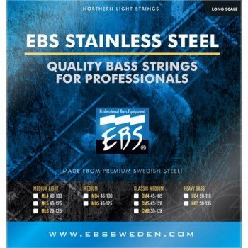 EBS SS-CM 4-strings (45-105) Stainless Steel
