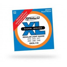 D'Addario EKXl110 Xl Regular Light Reinforced 10-46
