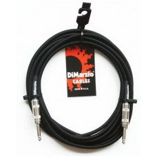 DiMarzio EP1710SS Instrument Cable 10Ft Black