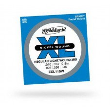 D'Addario EXL110W Regular Light Wound 3RD 10-46