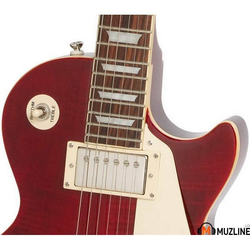 Электрогитара Epiphone Les Paul Standard Plus-Top Pro Wine Red