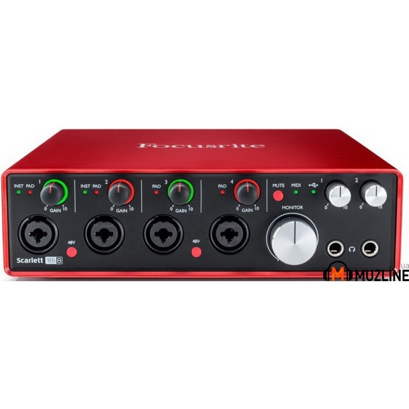 USB звуковая карта Focusrite Scarlett 18i8 New