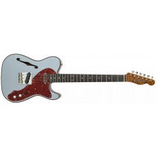 Электрогитара Fender CS LE Artisan Thinline Telecaster Aged Blue Ice Metallic