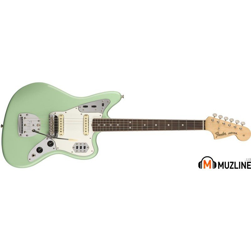 Электрогитара Fender American Original 60s Jaguar RW Surf Green