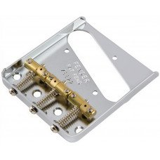 Бридж Fender Bridge Assembly For American Vintage Hot Rod Telecaster With Compensated Brass Saddles Nickel