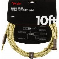 Инструментальный кабель Jack - Jack Fender Cable Deluxe Series 10' Angled Tweed