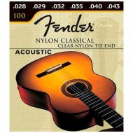 Fender 100 Classical Clear Nylon Tie End