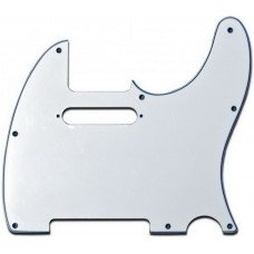Fender Pickguard For Telecaster White 3-Ply