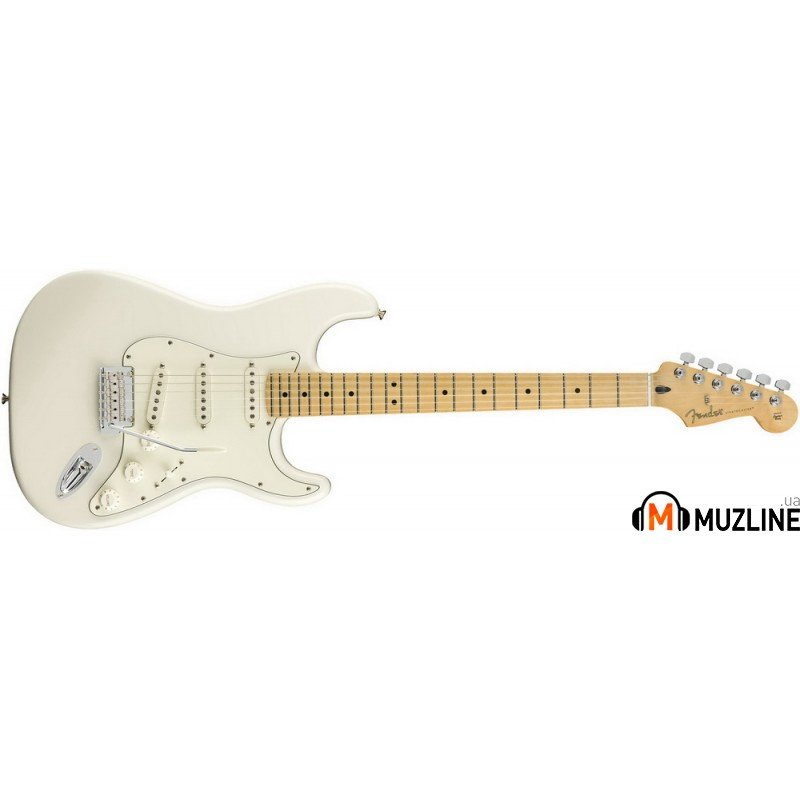 Электрогитара Fender Player Stratocaster MN PWT