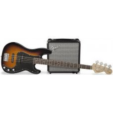 Бас-гитара Fender Squier PJ Bass Pack Brown Sunburst