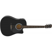 Электроакустическая гитара Fender Squier SA-105CE Black