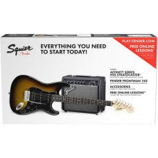 Fender Squier Strat Pack Brown Sunburst