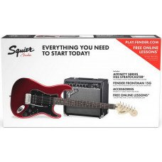 Fender Squier Strat Pack Candy Apple Red